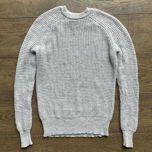 Theory 100% Cashmere waffle knit sweater
